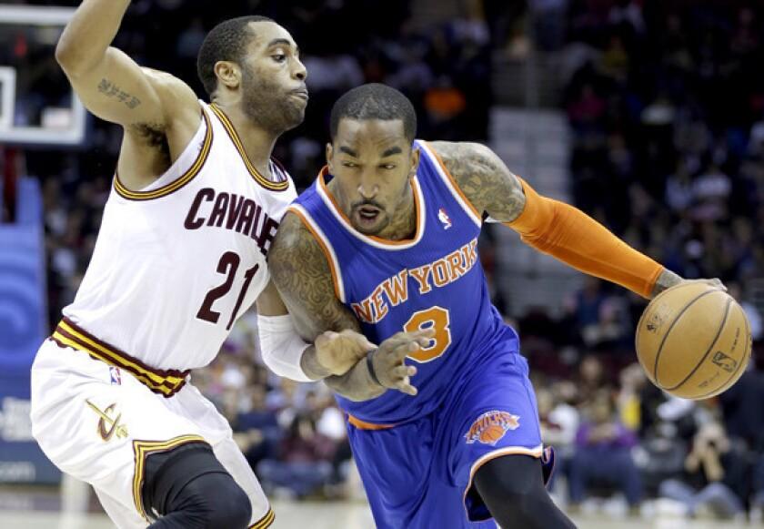 Clippers' Jamal Crawford loses NBA sixth-man award to J.R. Smith