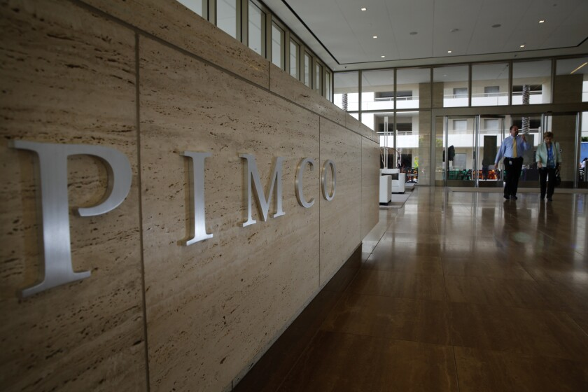 Pimco headquarters in Newport Beach.