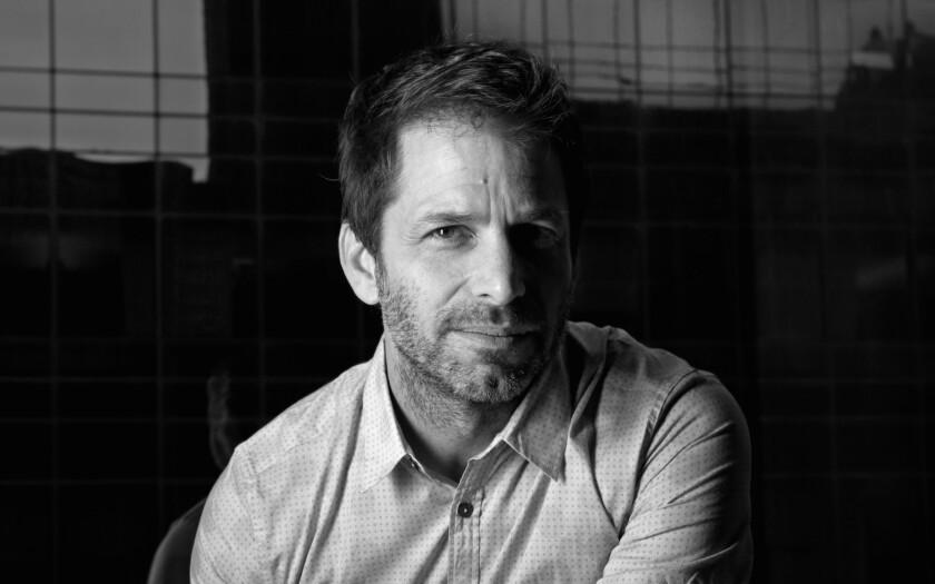 """""""Batman v Superman: Dawn of Justice"""" director Zack Snyder."""