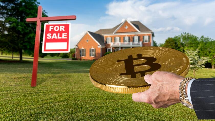 A San Diego company brokering the sale of two multimillion-dollar homes in the affluent community of La Jolla says it will accept bitcoin as payment.