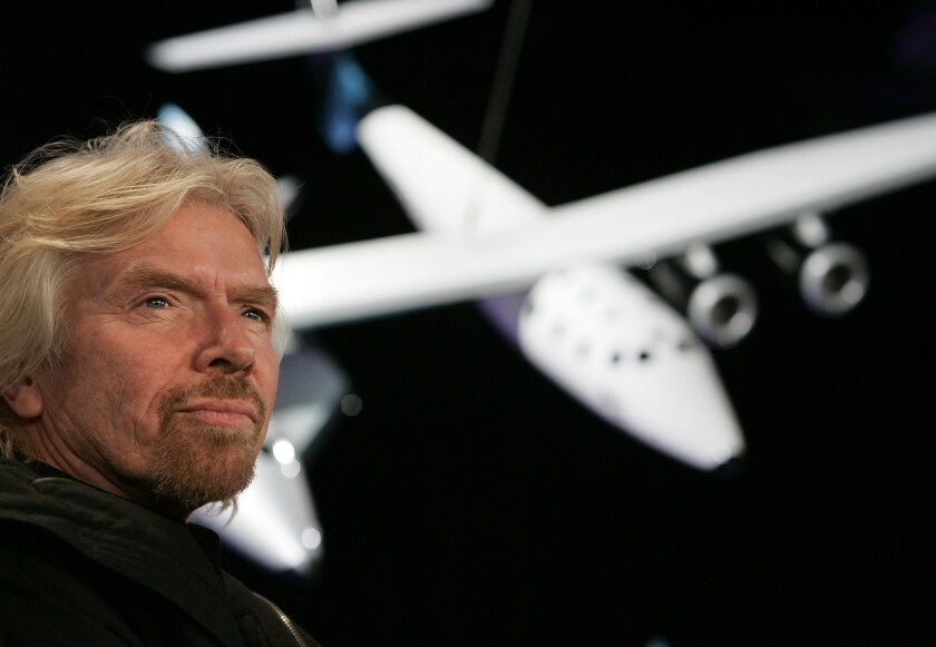 One Virgin Galactic customer said he was confident the company would iron out problems, in part because founder Richard Branson said he would be on its maiden space voyage.