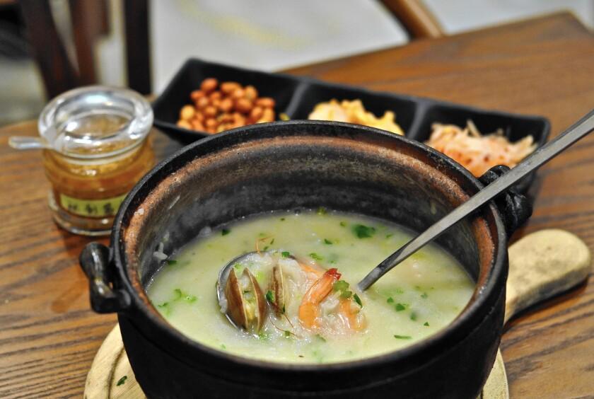 Congee at Huo Zhou Wang