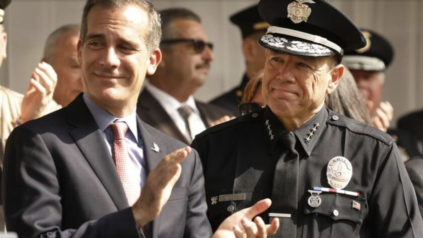 LAPD chief endorses reform to controversial retirement