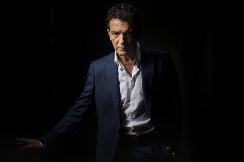 """Antonio Banderas earned his first Oscar nomination for """"Pain and Glory."""""""