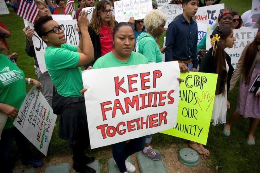 """El juez Dana Sabraw, quien preside el litigio en una corte de San Diego (California), calificó hoy de """"excelente"""" el acuerdo alcanzado por abogados del gobierno y de las familias afectadas en tres demandas colectivas. EFE/ARCHIVO"""