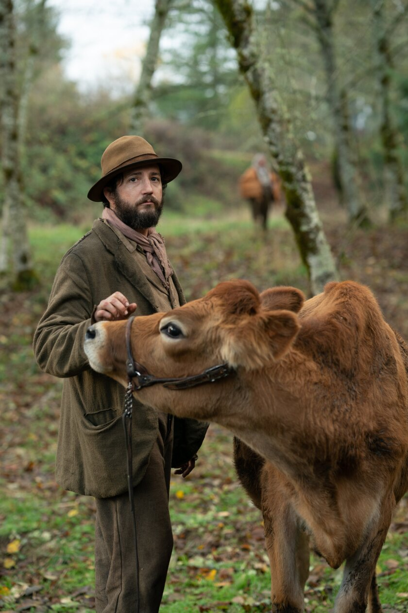 "John Magaro in ""First Cow."""