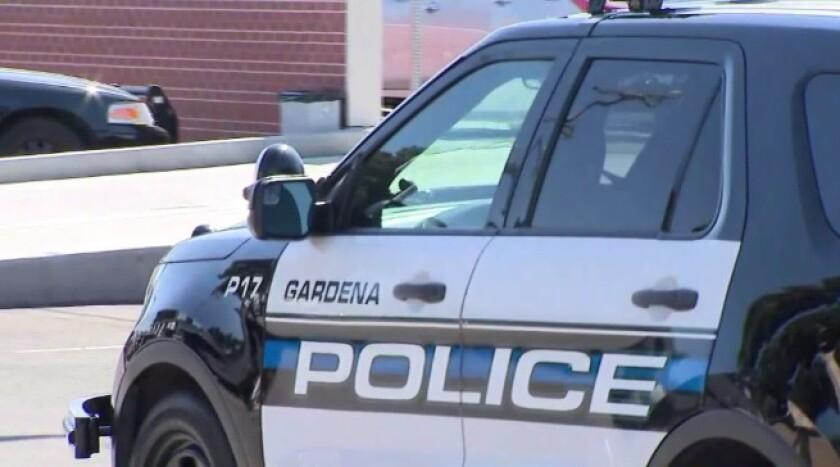 Gardena police car