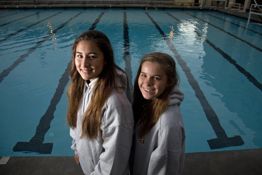 Bishop's seniors Natalie Chun (left) and Jill Bushman have embraced their roles as team captains.