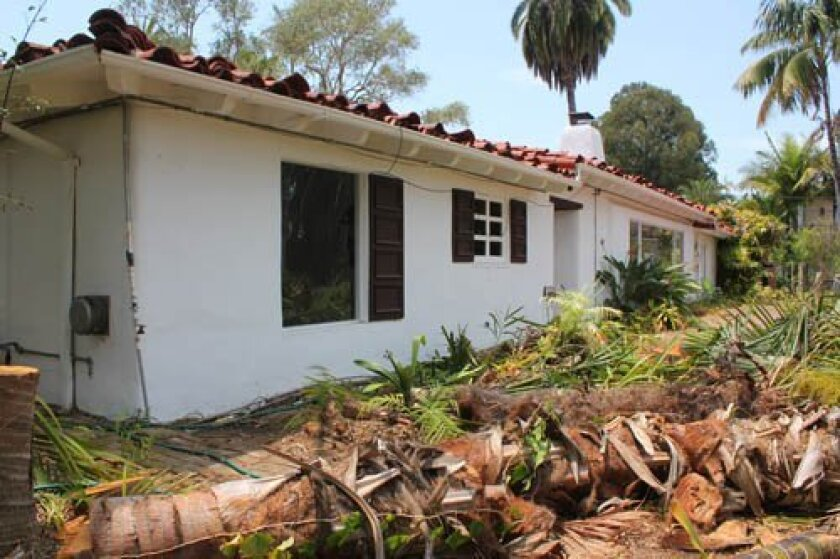 This 1936 home designed by architect Cliff May received a historic designation from the City of San Diego on Jan. 23, despite opposition from the property owner. File