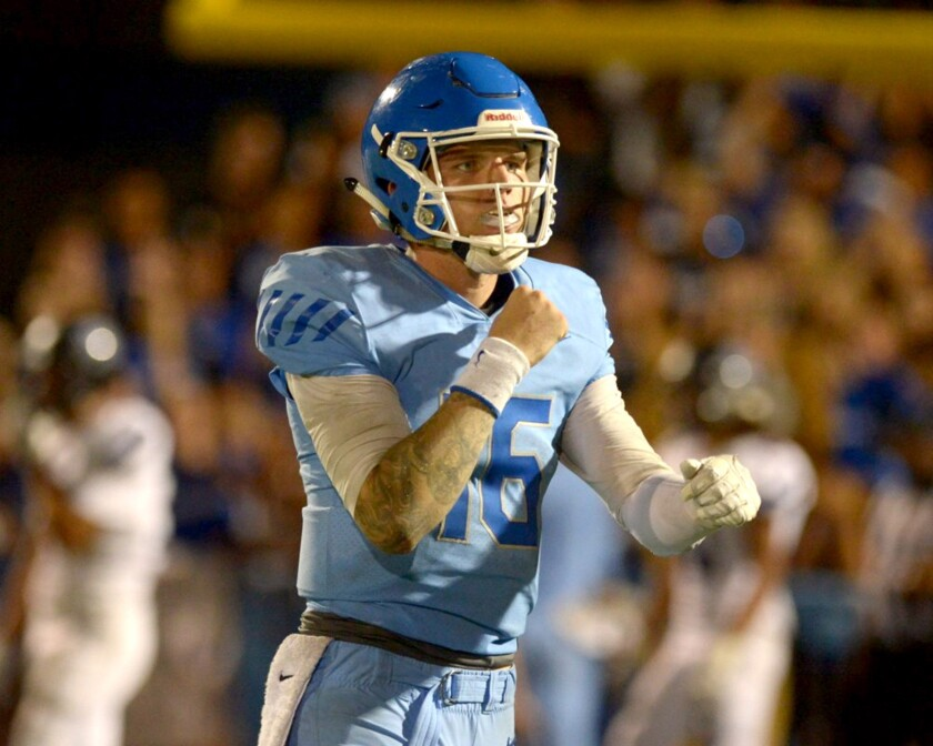 Quarterback Shane Illingworth and Norco are set for a showdown with Corona Centennial on Friday night.