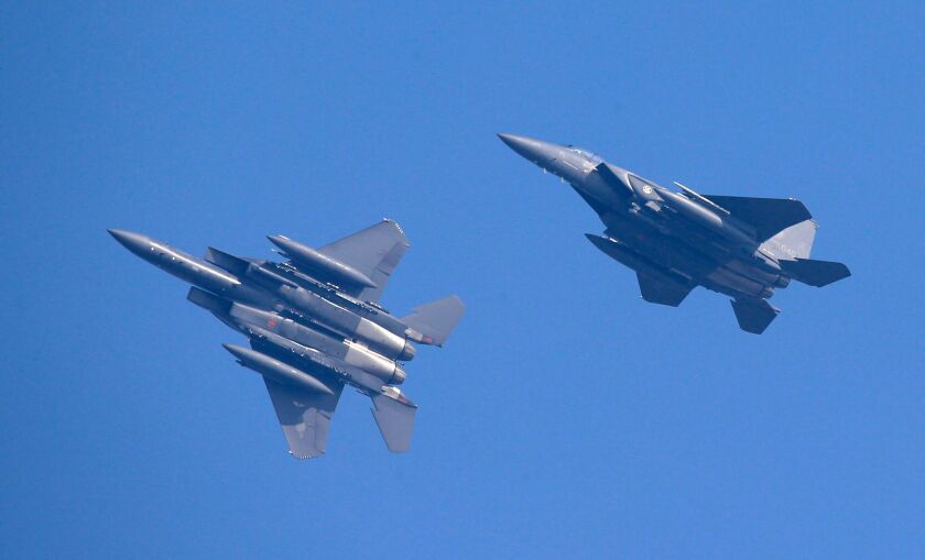 South Korea fighter jets