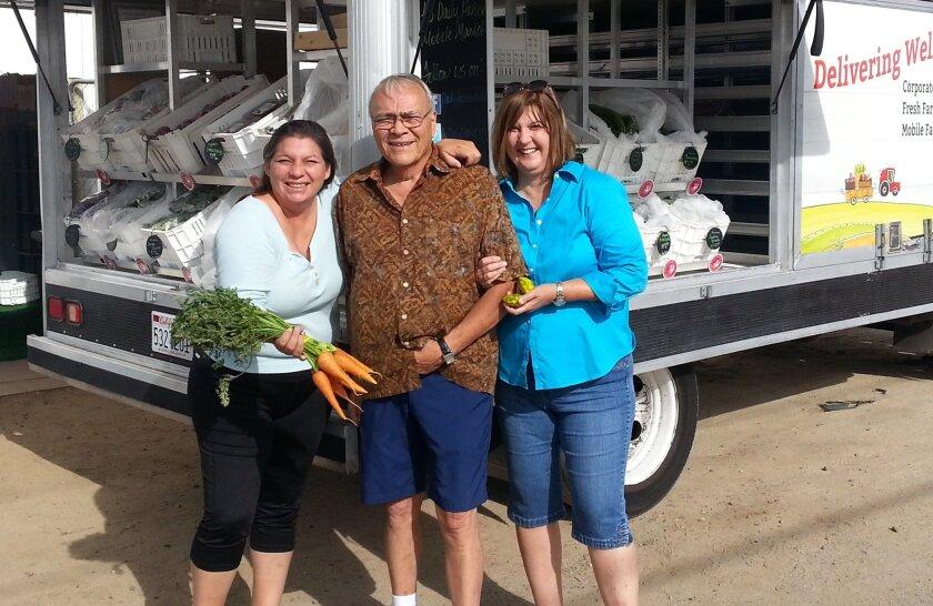 Daily Harvest Express LLC owners Ivonne Ganss, Rafael Garcia and Janis Garcia