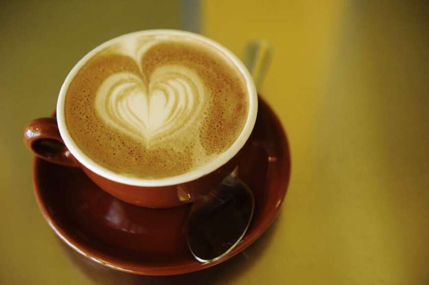 Five ounces of caffeinated coffee improves blood flow in small blood vessels, Japanese researchers report.
