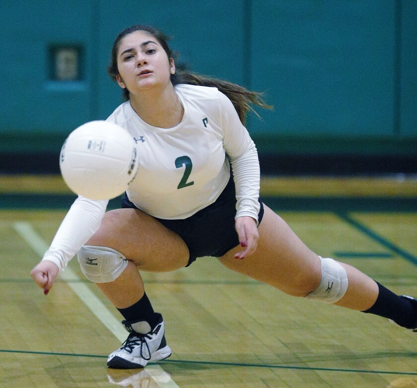 Providence girls' volleyball suffers league sweep against Pasadena Poly