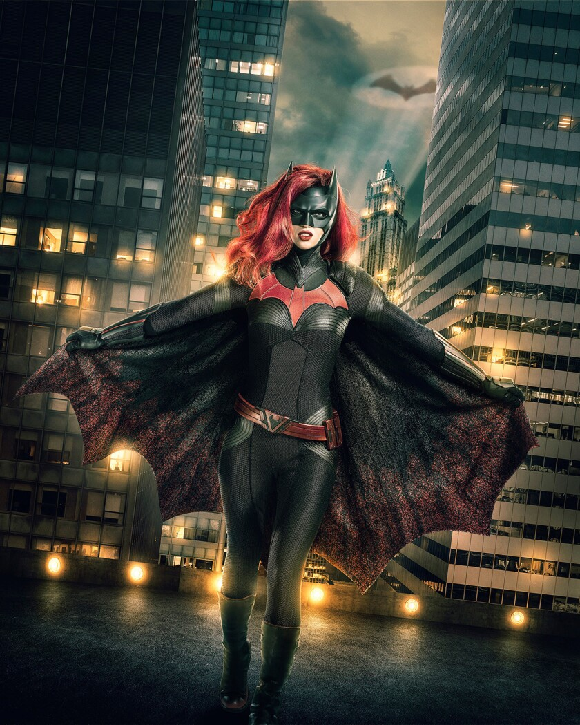 Image Number: Batwoman_1stLook_V5_.jpg -- Pictured: Ruby Rose as Batwoman -- Photo: JSquared Photogr