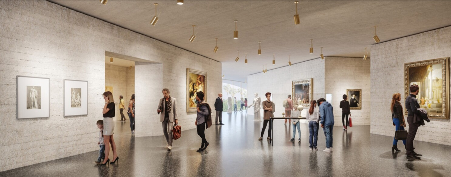 Critic S Notebook Lacma S Concrete Wall Problem Why A Chic Design Comes With Consequences Los Angeles Times