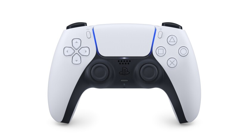 A controller for the PlayStation 5.