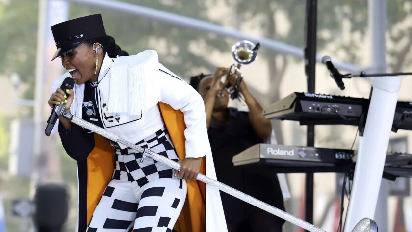 Janelle Monáe is on the bill for this weekend's Music Tastes Good festival in Long Beach.