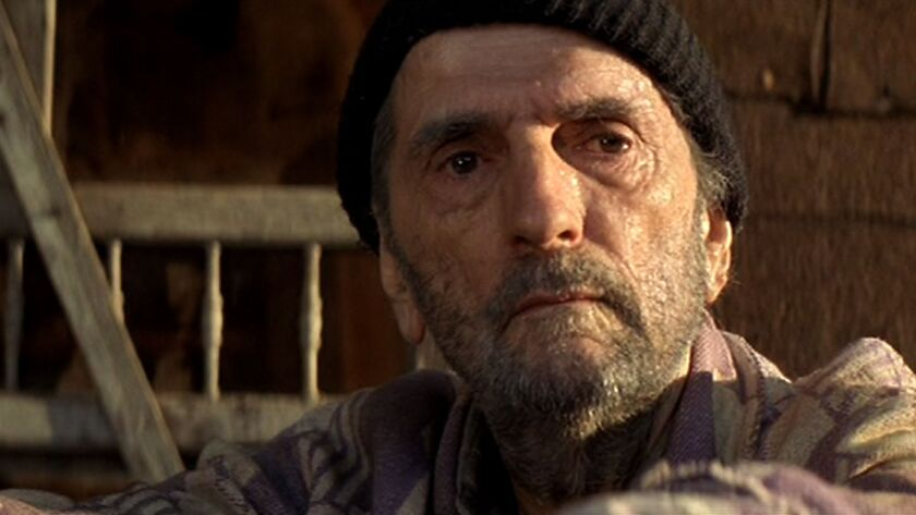 """A scene from """"Harry Dean Stanton: Partly Fiction."""""""