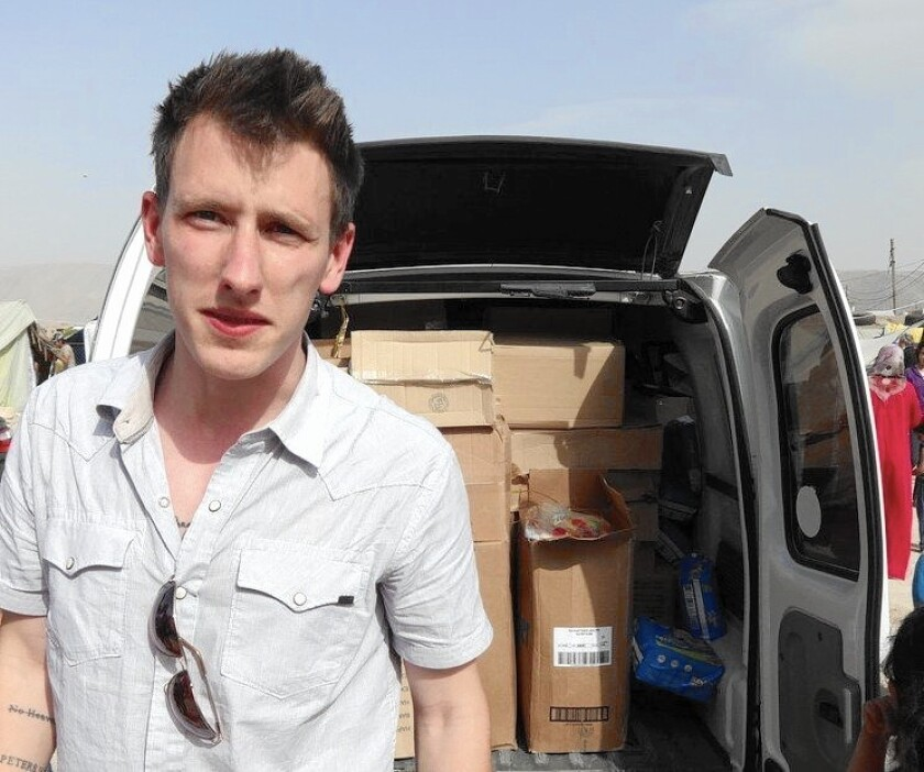 Peter Kassig arrived in Lebanon in 2012, according to his family, and later began doing regular aid work with Palestinian refugees and Syrian war victims.