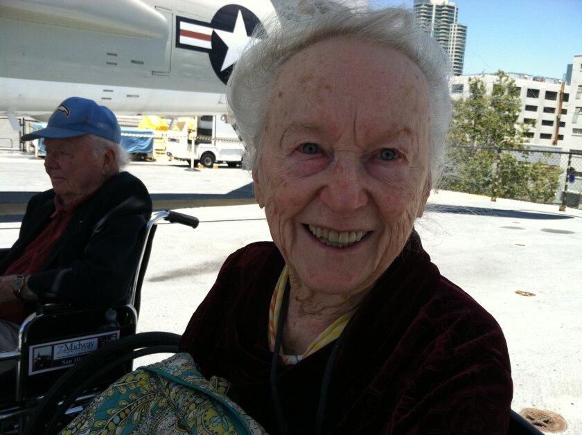 World War II nurse Rita O'Neil