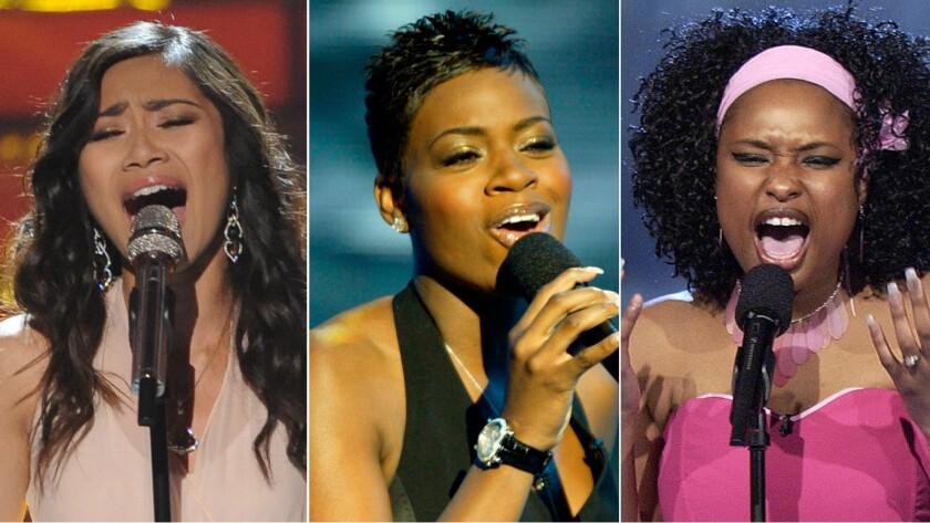 Jessica Sanchez, Fantasia Barrino and Jennifer Hudson had memorable performances.