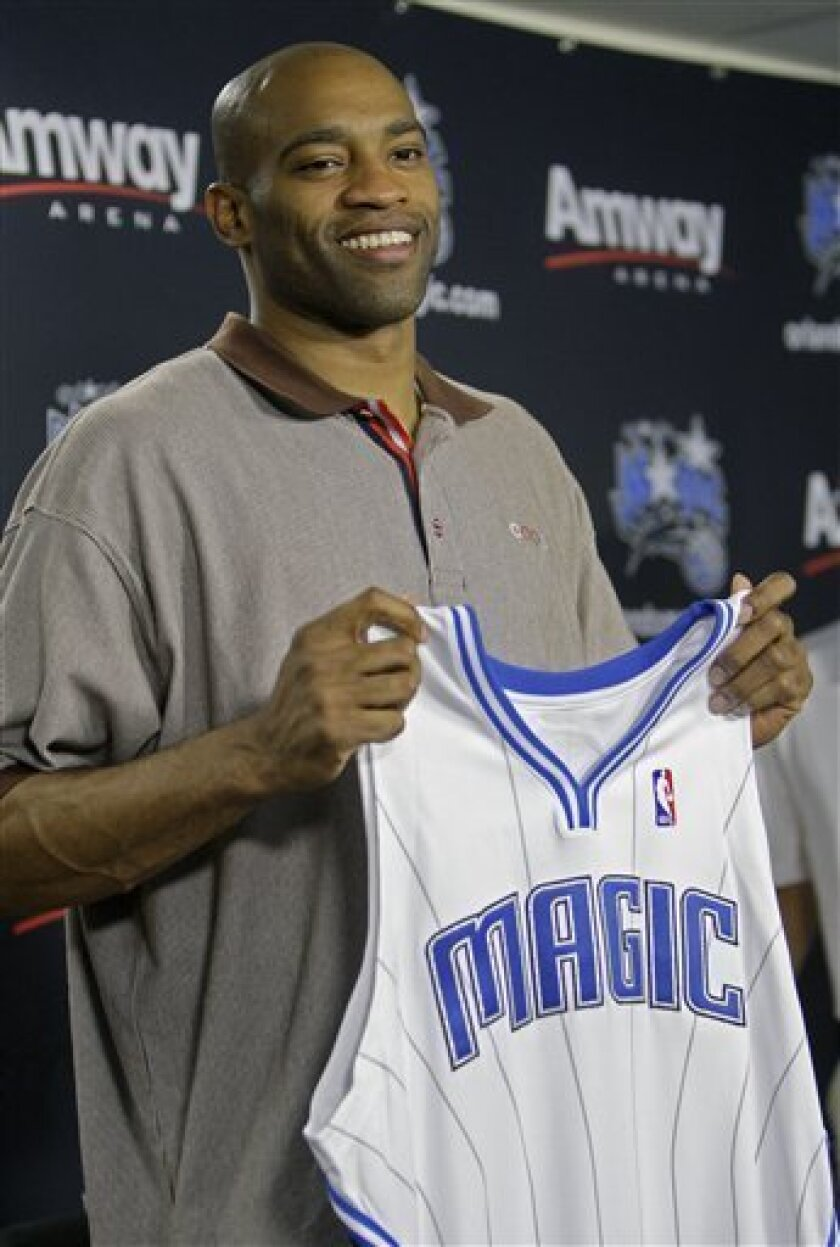 save off 7d18c 33c3f Hours after Cavaliers get Shaq, Magic get Carter - The San ...