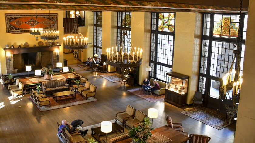 The Ahwahnee Hotel as well as restaurants and other lodgings at Yosemite National Park will close Tuesday.