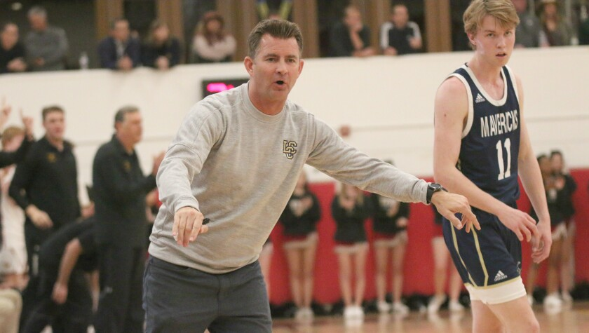 LCC basketball coach Dave Cassaw, winner of four CIF titles.