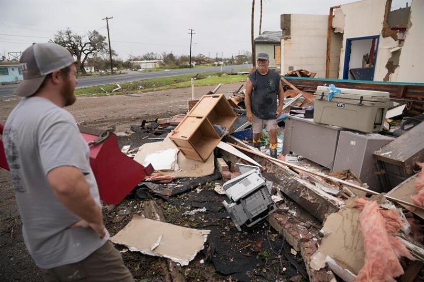 Cerca de 15.000 familias damnificadas por el huracán Harvey, que azotó la costa sureste de Texas a finales de agosto, corren el riesgo de pasar la Navidad lejos de su hogar, alojadas en hoteles, según los datos que maneja la Agencia Federal para el Manejo de Emergencias (FEMA). EFE/ARCHIVO