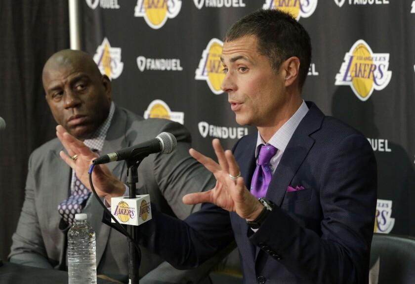 Lakers Pelinka Basketball