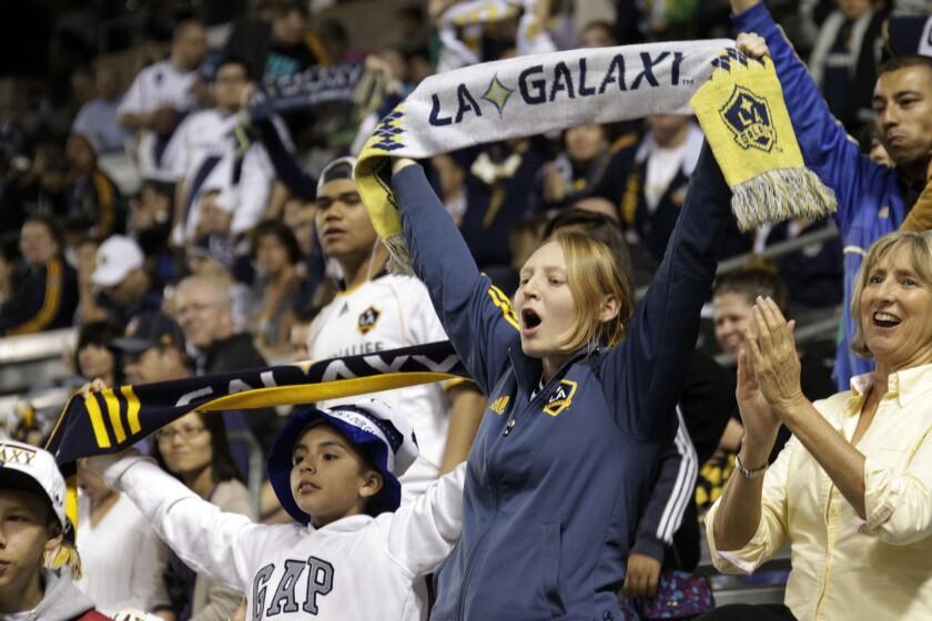 Los aficionados del Galaxy están acostumbrados a las victorias en Carson.
