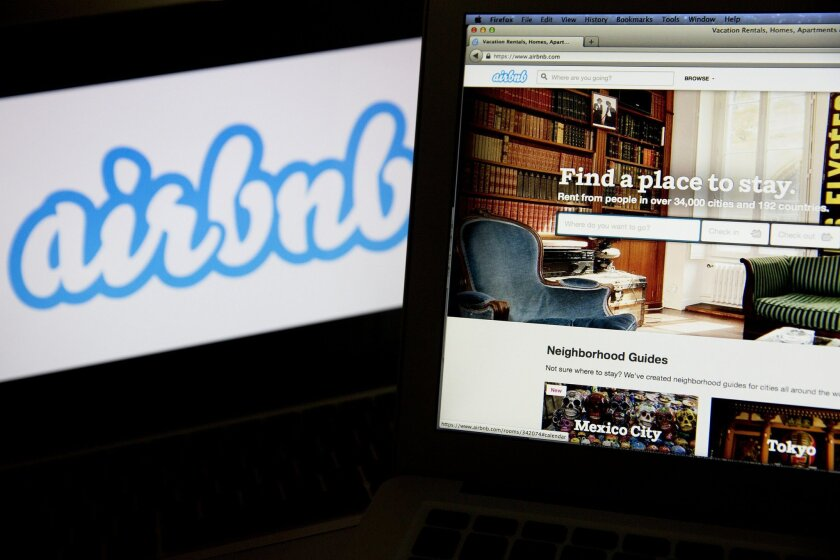 The growth of the popular home-sharing site Airbnb has led to increasing numbers of short term vacation rentals in San Diego, prompting calls for more regulation.