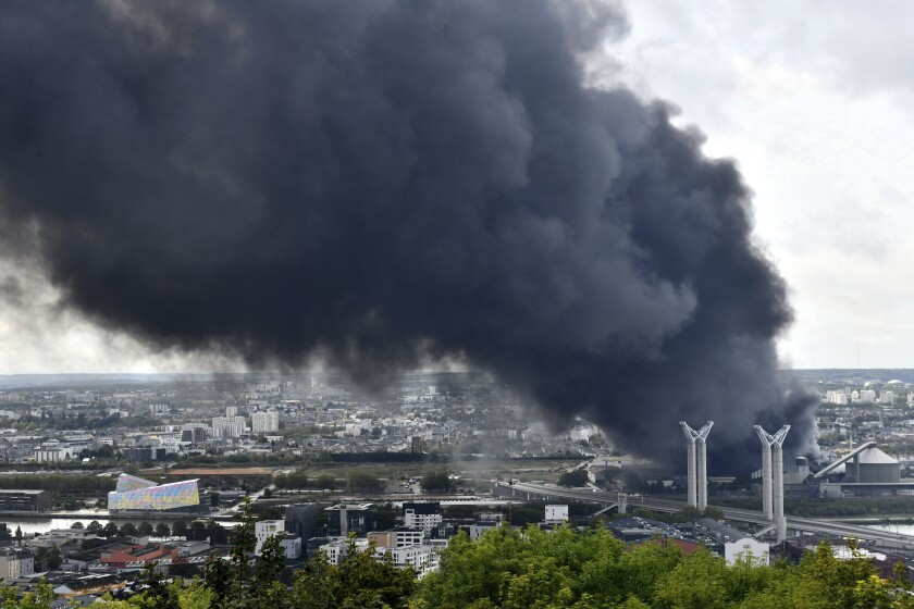 France Chemical Fire Probe