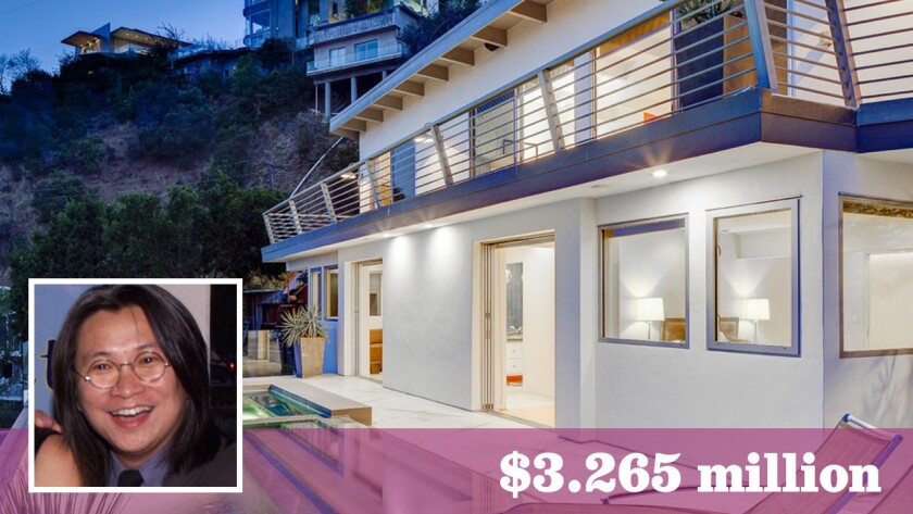 Chinese filmmaker Peter Chan has sold his home in Hollywood Hills West for over the asking price.