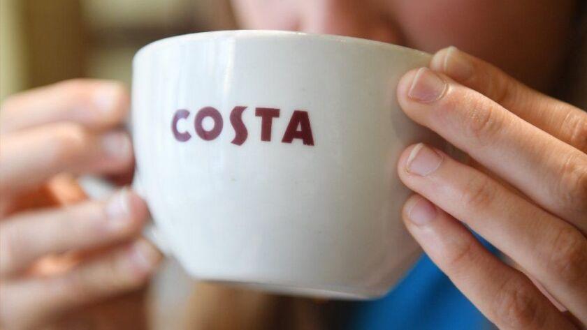 Coca Cola to buy Costa Coffee, London, United Kingdom - 31 Aug 2018