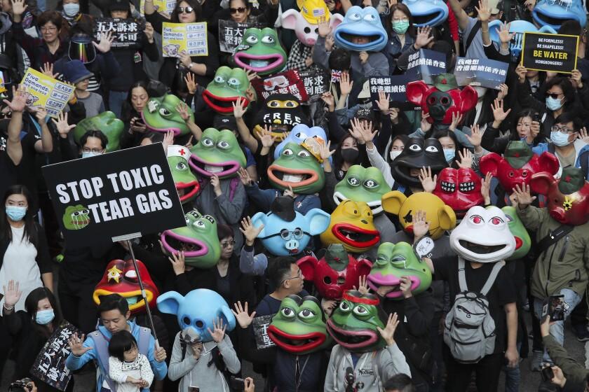 Hong Kong Protests Unity and Division