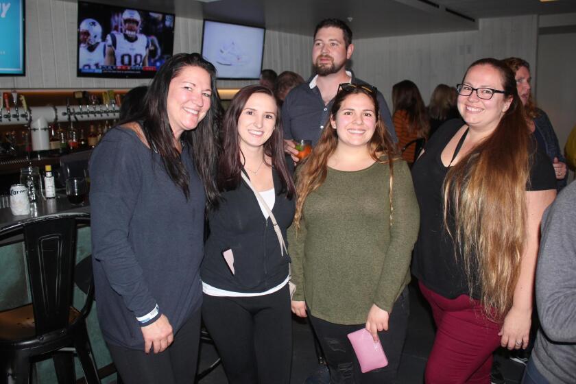 Kerri Reynolds and daughter Allison Ballinger with Christina Macias and mom Angelina Macias prove that PB40 is family friendly!
