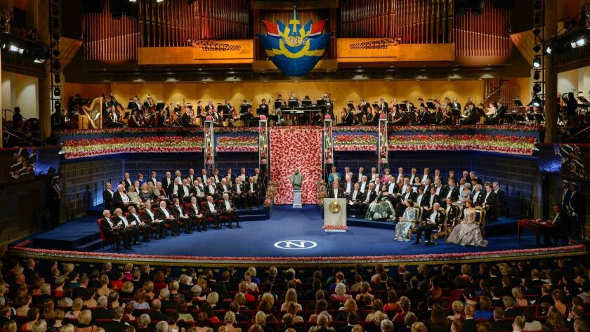 Nobel Prize in Literature 2018 will not be awarded, Stockholm, Sweden - 10 Dec 2016