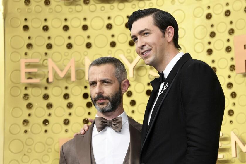 Jeremy Strong and Nicholas Braun