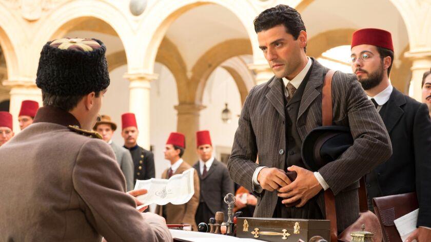 """Oscar Isaac stars as an Armenian medical student in """"The Promise."""""""