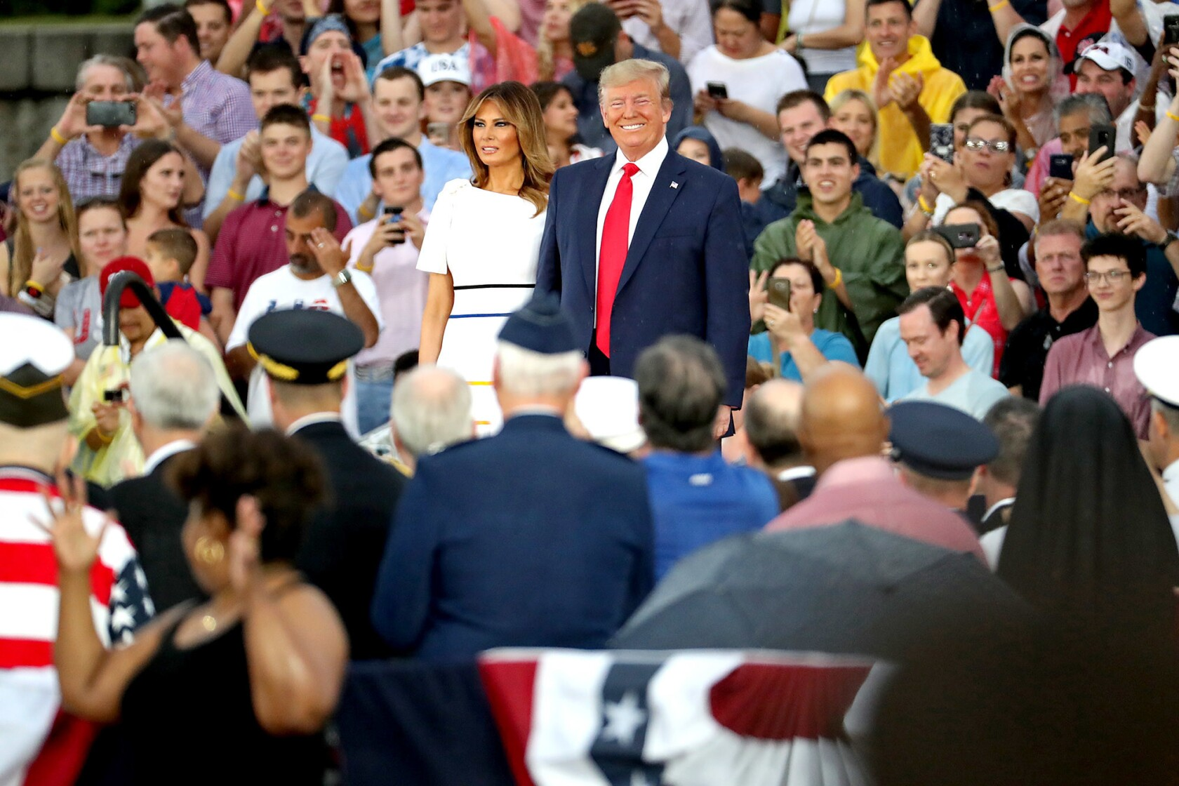 d56a5b0d24 Trump's Fourth of July speech inserts politics and protests into ...