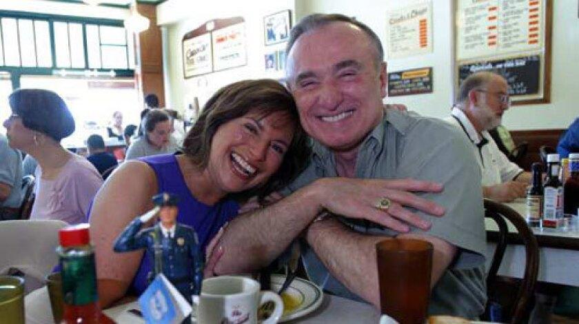 Bill Bratton and Rikki Klieman