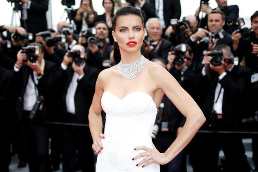 Brazilian model Adriana Lima. EFE/EPA/FILE