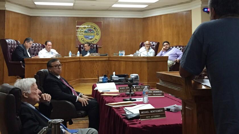 Maywood city council
