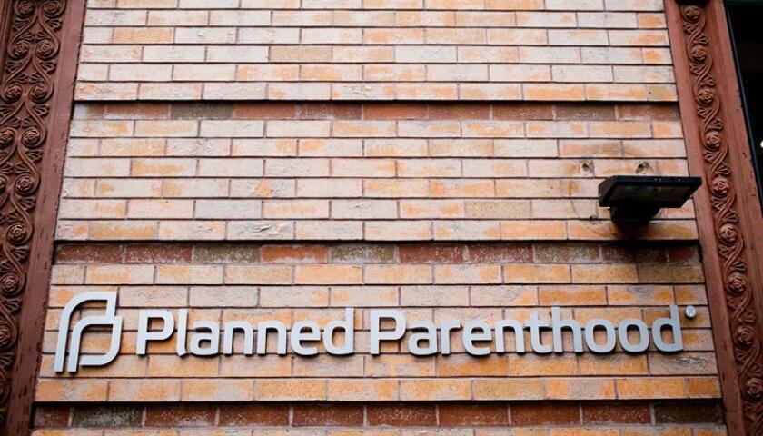 Vista de una clínica de Planned Parenthood, la mayor organización de planificación familiar estadounidense en Nueva York, Estados Unidos. EFE/Archivo