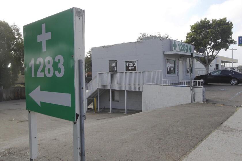 Illegal dispensaries are a problem in Chula Vista.