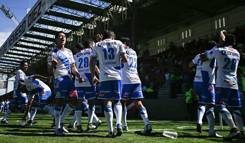 El Puebla, un equipo de bajo presupuesto en el máximo torneo continental de clubes.
