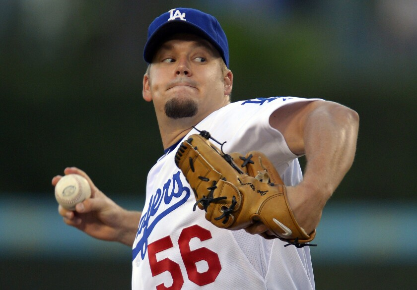 Revitalized Joe Blanton signs one-year deal with Dodgers to be a reliever