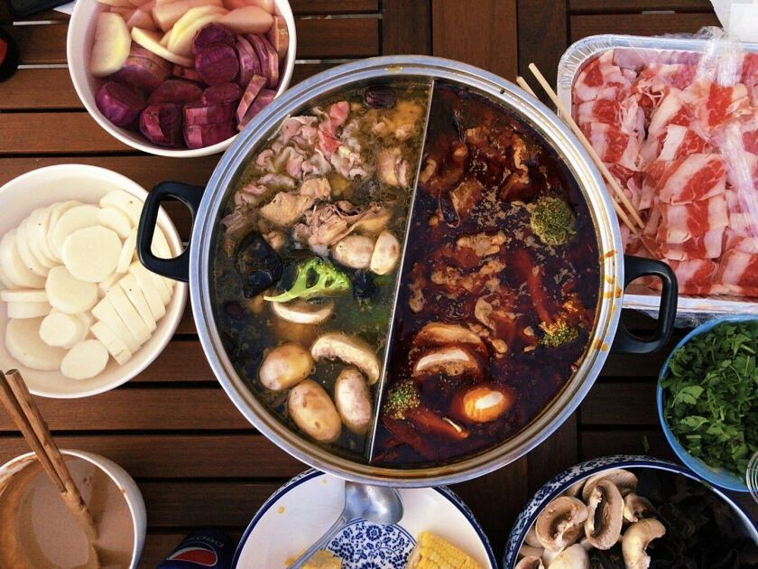 Hot pot is a bonding meal.